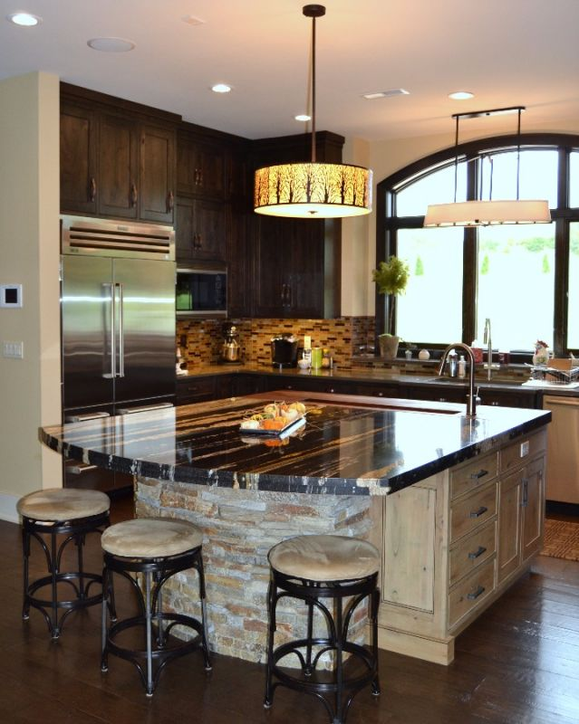 Custom designed kitchens portfolio cabinets and counters for Kitchen design center
