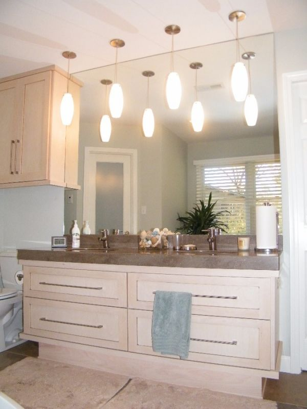 ... Bathroom Vanity With Two Sinks Bath Vanity With Lots Of Cabinet Space  Makeup Station With Large Cabinet Space Rich Colored Bathroom Vanity Bathroom  Sink ...