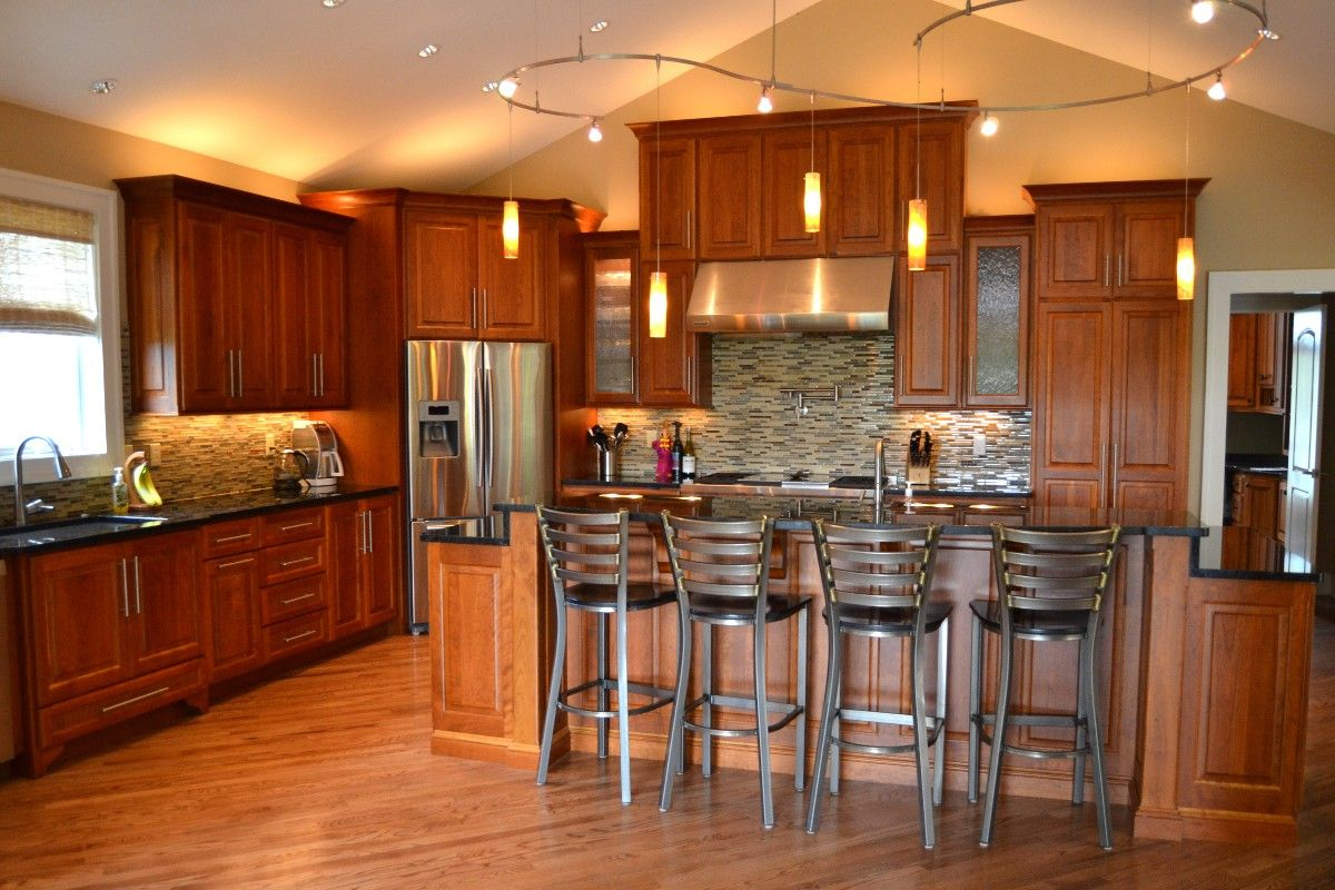 Custom Designed Kitchens Portfolio Cabinets And Counters - Country kitchen columbia mo